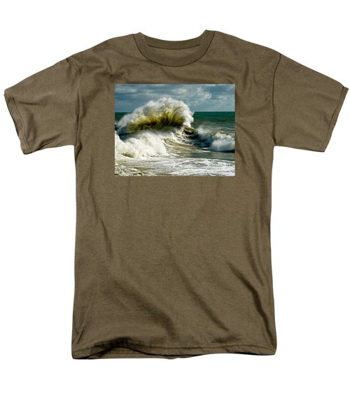 Cabrillo Shorebreak  Men's T-Shirt  (Regular Fit) by Michael Cinnamond