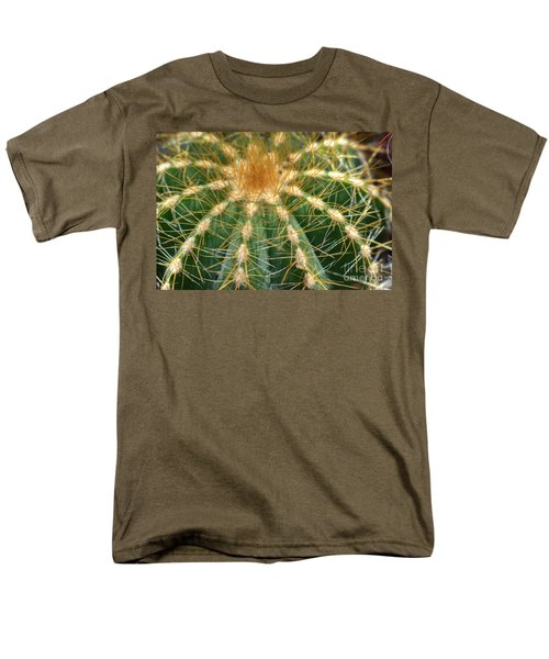 Men's T-Shirt  (Regular Fit) featuring the photograph Cactus 2 by Jim and Emily Bush