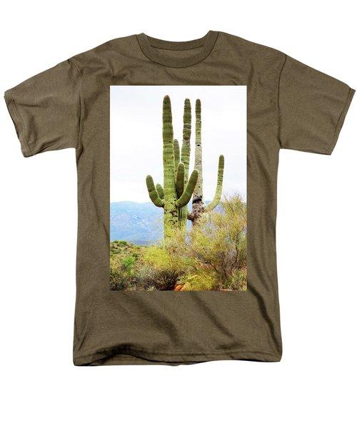 Cactus Men's T-Shirt  (Regular Fit) by Angi Parks