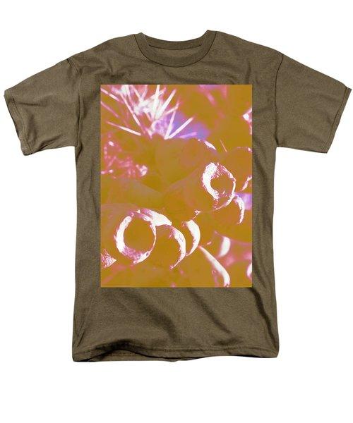 Men's T-Shirt  (Regular Fit) featuring the photograph Cactus Apples In Modern Art by Carolina Liechtenstein