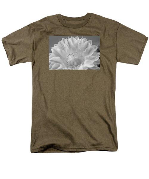 Cactus Bloom Burst Men's T-Shirt  (Regular Fit) by Shelly Gunderson