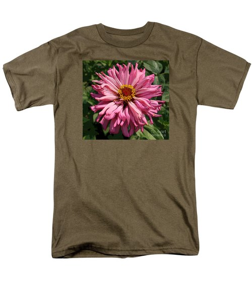Men's T-Shirt  (Regular Fit) featuring the photograph Cactus Petal Zinnia by Jeanette French