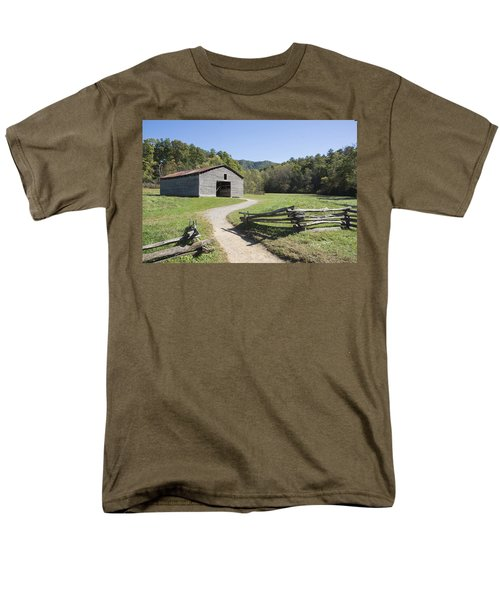 Cades Stables Men's T-Shirt  (Regular Fit) by Ricky Dean