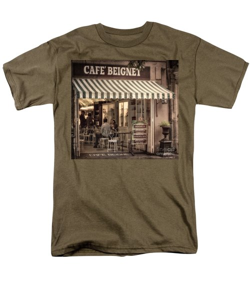 Cafe Beignet 2 Men's T-Shirt  (Regular Fit) by Jerry Fornarotto