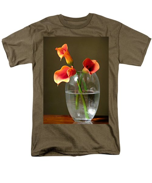 Calla Lily Stems Men's T-Shirt  (Regular Fit) by Diana Angstadt