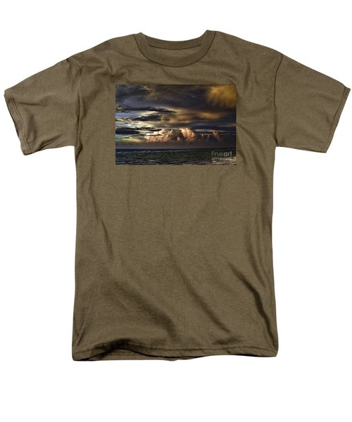 Men's T-Shirt  (Regular Fit) featuring the photograph Calm Before Storm by Judy Wolinsky