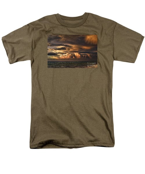 Men's T-Shirt  (Regular Fit) featuring the photograph Calm Before The Storm by Judy Wolinsky