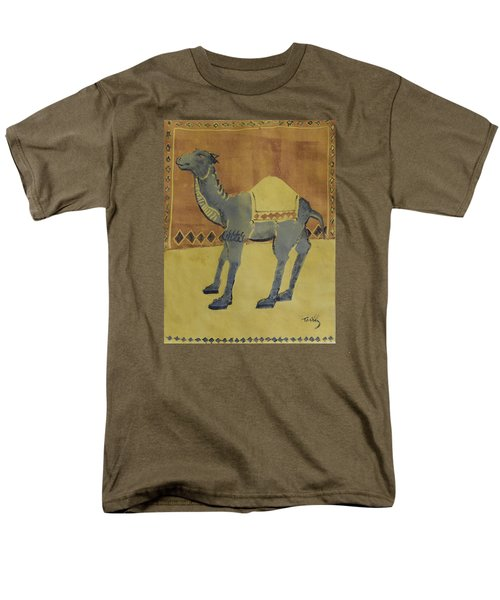 Camel With Diamonds Men's T-Shirt  (Regular Fit)