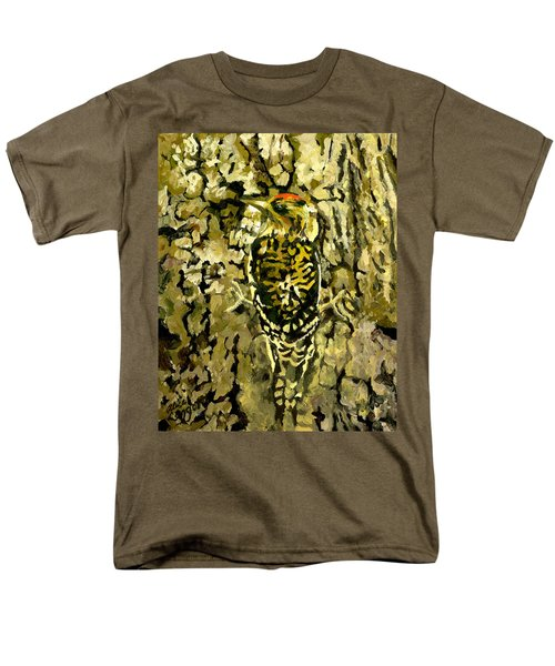 Camouflage Men's T-Shirt  (Regular Fit) by Alice Leggett