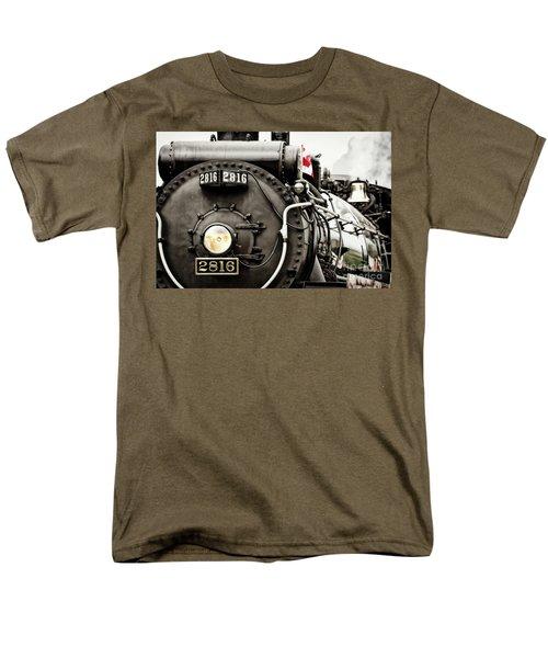 Canada Day Men's T-Shirt  (Regular Fit) by Brad Allen Fine Art