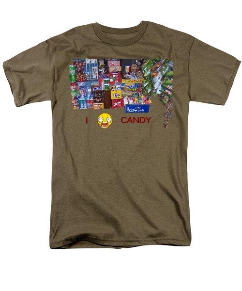 Candy Men's T-Shirt  (Regular Fit) by David and Lynn Keller