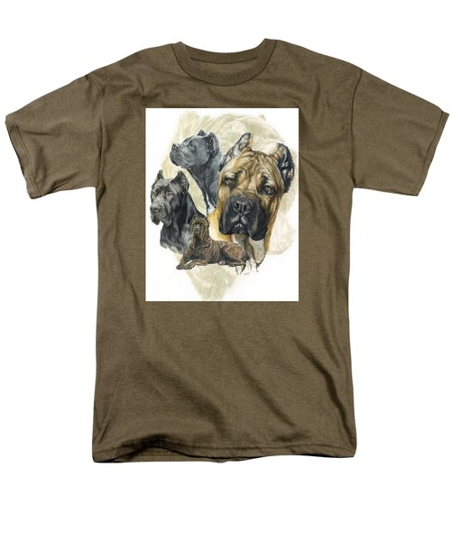 Cane Corso W/ghost Men's T-Shirt  (Regular Fit) by Barbara Keith