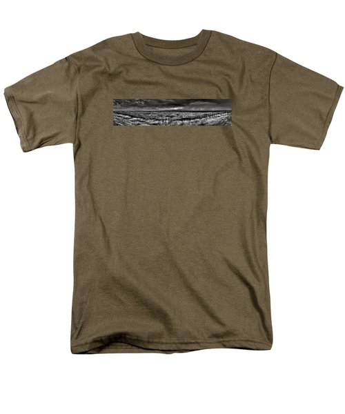 Men's T-Shirt  (Regular Fit) featuring the digital art Canon City Storm Pano by William Fields