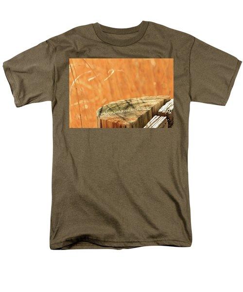 Cantigny Fence Post Men's T-Shirt  (Regular Fit) by Joni Eskridge