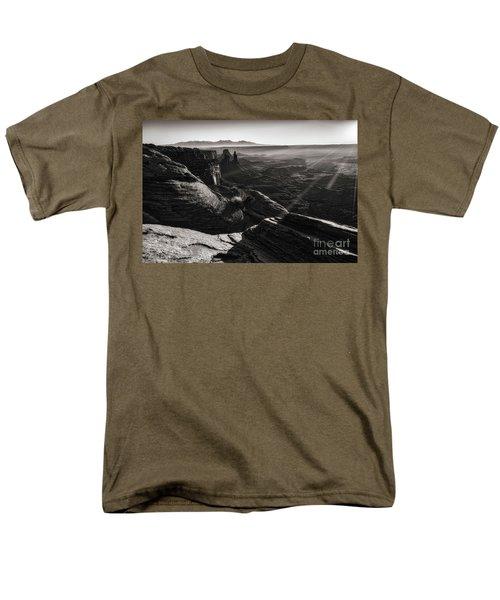 Canyon Sunbeams Men's T-Shirt  (Regular Fit) by Kristal Kraft