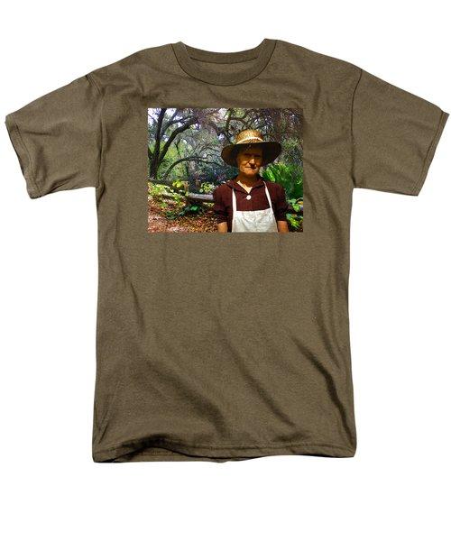 Canyon Woman Men's T-Shirt  (Regular Fit) by Timothy Bulone