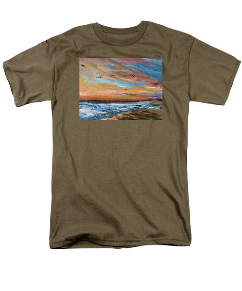 Cape Cod Sunrise Men's T-Shirt  (Regular Fit) by Michael Helfen