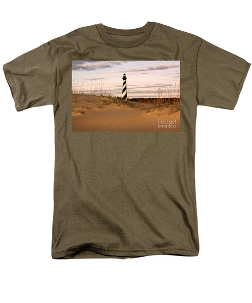 Cape Hatteras Lighthouse Men's T-Shirt  (Regular Fit) by Tony Cooper