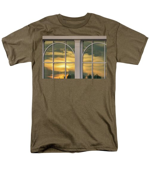 Cape May Abstract Sunset Reflection Men's T-Shirt  (Regular Fit)