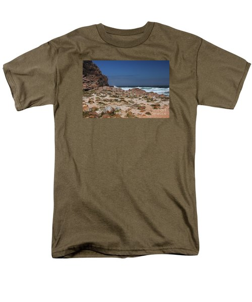 Cape Of Good Hope Men's T-Shirt  (Regular Fit) by Bev Conover