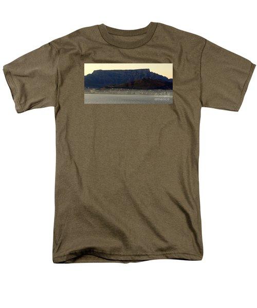 Cape Town Under Table Rock Men's T-Shirt  (Regular Fit) by John Potts