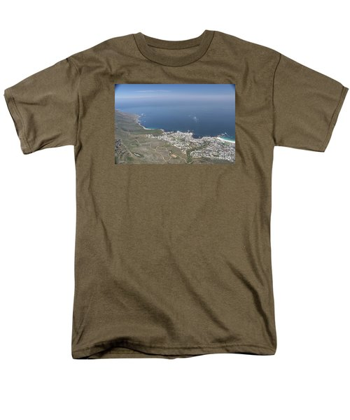 Capetown, South Africa Men's T-Shirt  (Regular Fit) by Bev Conover