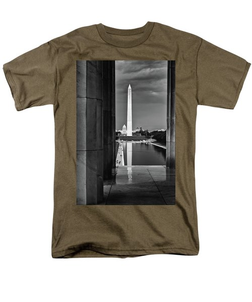 Capita And Washington Monument Men's T-Shirt  (Regular Fit) by Paul Seymour