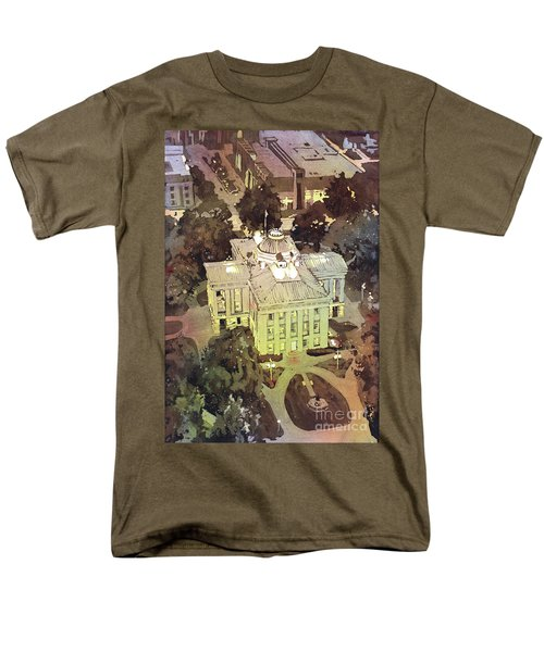 Capitol Of Stupid- Raleigh, Nc Men's T-Shirt  (Regular Fit) by Ryan Fox