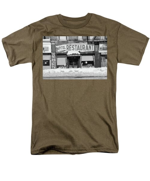 Men's T-Shirt  (Regular Fit) featuring the photograph Capitol Winter by Cole Thompson
