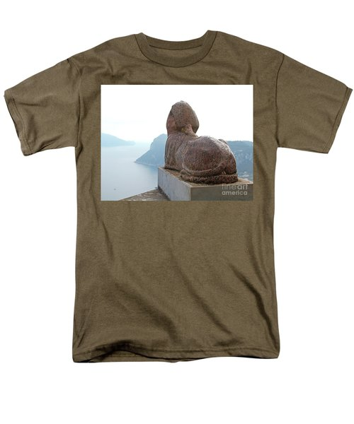 Capri, Villa San Michele 1 Men's T-Shirt  (Regular Fit) by Wilhelm Hufnagl