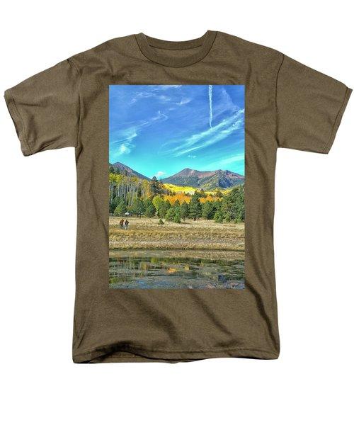 Captured Men's T-Shirt  (Regular Fit) by Tom Kelly