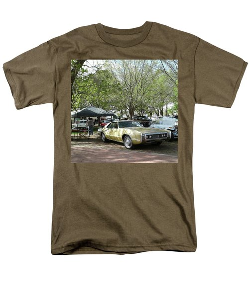 Men's T-Shirt  (Regular Fit) featuring the pyrography Car Show Saturday by Jack Pumphrey