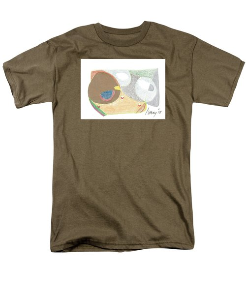 Men's T-Shirt  (Regular Fit) featuring the drawing Card 5 by Rod Ismay