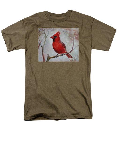 Cardinal Men's T-Shirt  (Regular Fit)