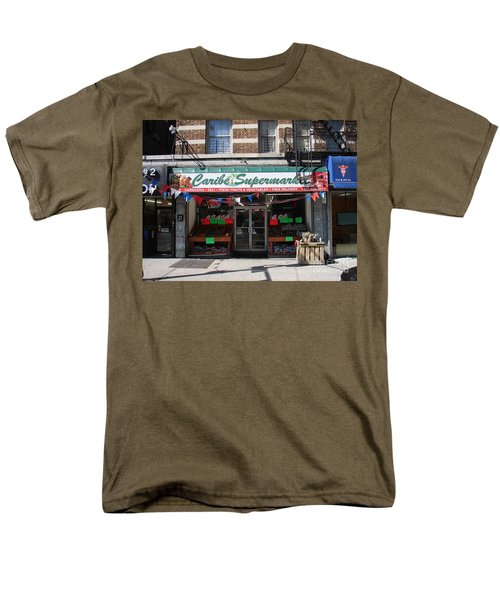 Men's T-Shirt  (Regular Fit) featuring the photograph Caribe Supermarket by Cole Thompson