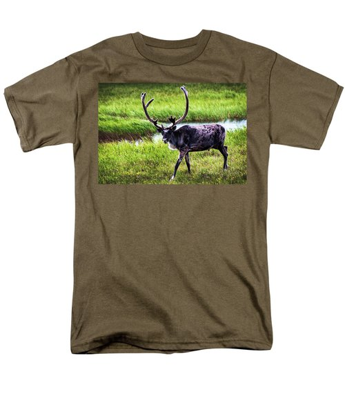 Men's T-Shirt  (Regular Fit) featuring the photograph Caribou by Anthony Jones