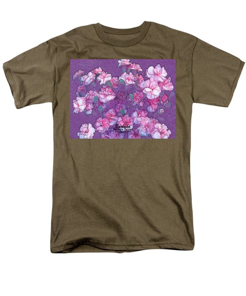 Carnation Inspired Art Men's T-Shirt  (Regular Fit) by Barbara Tristan