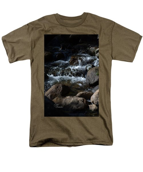 Men's T-Shirt  (Regular Fit) featuring the photograph Carson River by Lynn Bawden