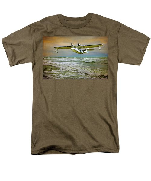 Catalina Flying Boat Men's T-Shirt  (Regular Fit) by Chris Lord