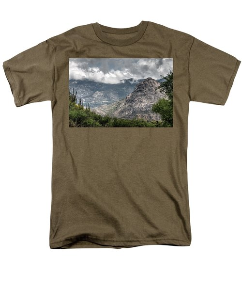 Catalina Mountains Men's T-Shirt  (Regular Fit) by Tam Ryan