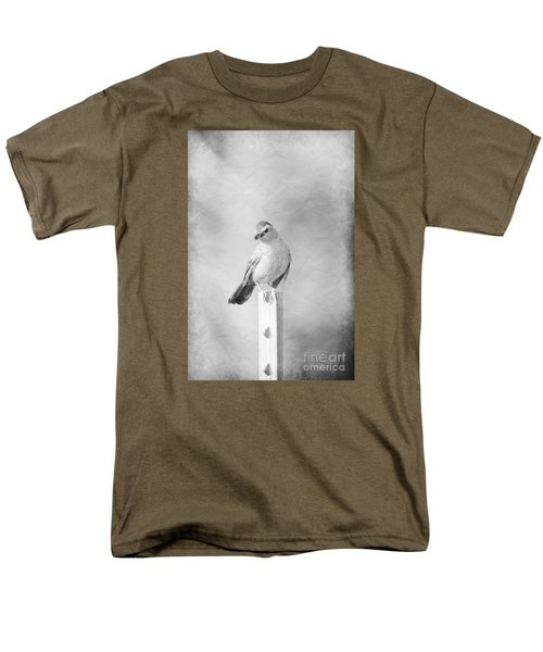 Men's T-Shirt  (Regular Fit) featuring the photograph Catbird by Lila Fisher-Wenzel