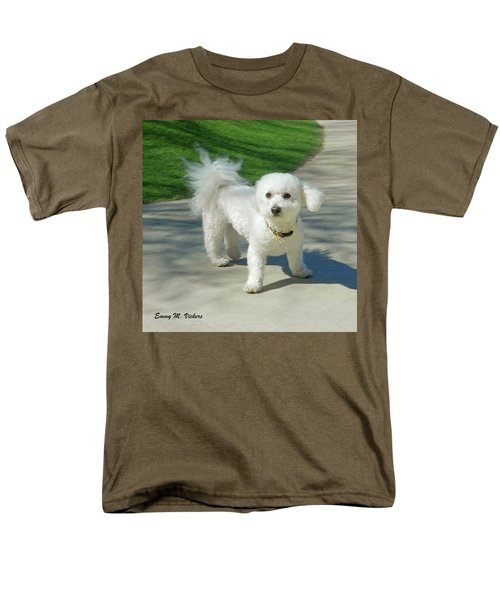 Catch Me If You Can Mommy Men's T-Shirt  (Regular Fit) by Emmy Marie Vickers
