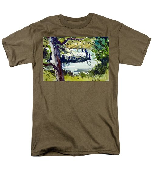 Catching Summer Dreams Framed Matted Glassed Men's T-Shirt  (Regular Fit)