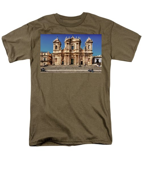 Cathedral II Men's T-Shirt  (Regular Fit) by Patrick Boening