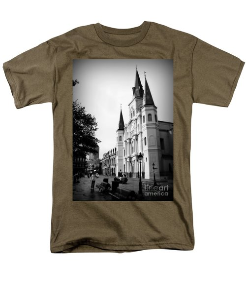Cathedral Morning 2 Men's T-Shirt  (Regular Fit) by Perry Webster