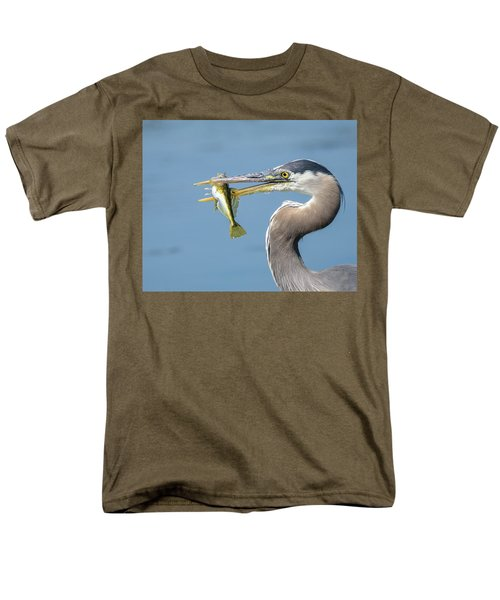 Caught One Men's T-Shirt  (Regular Fit) by Keith Boone