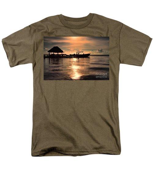 Caye Caulker At Sunset Men's T-Shirt  (Regular Fit)