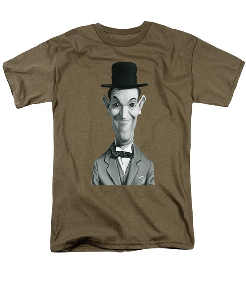 Celebrity Sunday - Stan Laurel Men's T-Shirt  (Regular Fit) by Rob Snow