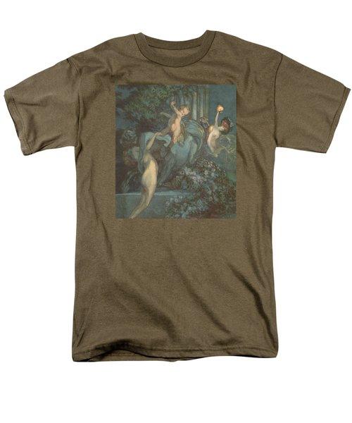 Centaur Nymphs And Cupid Men's T-Shirt  (Regular Fit)