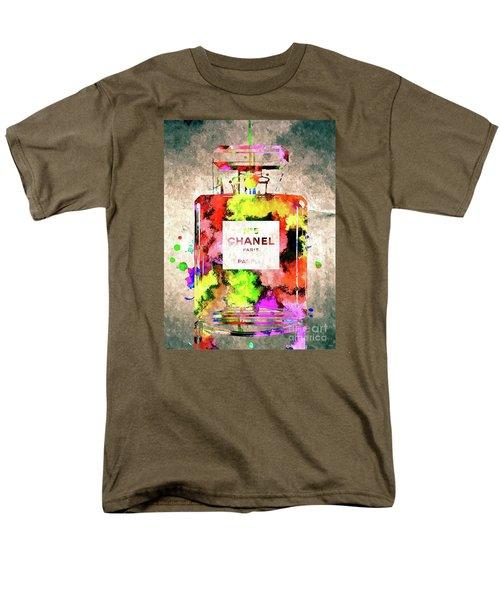 Chanel No 5 Men's T-Shirt  (Regular Fit) by Daniel Janda